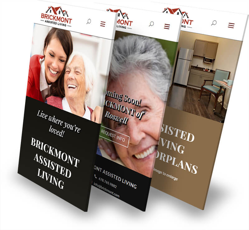 Brickmont web pages