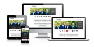 responsive law firm web design